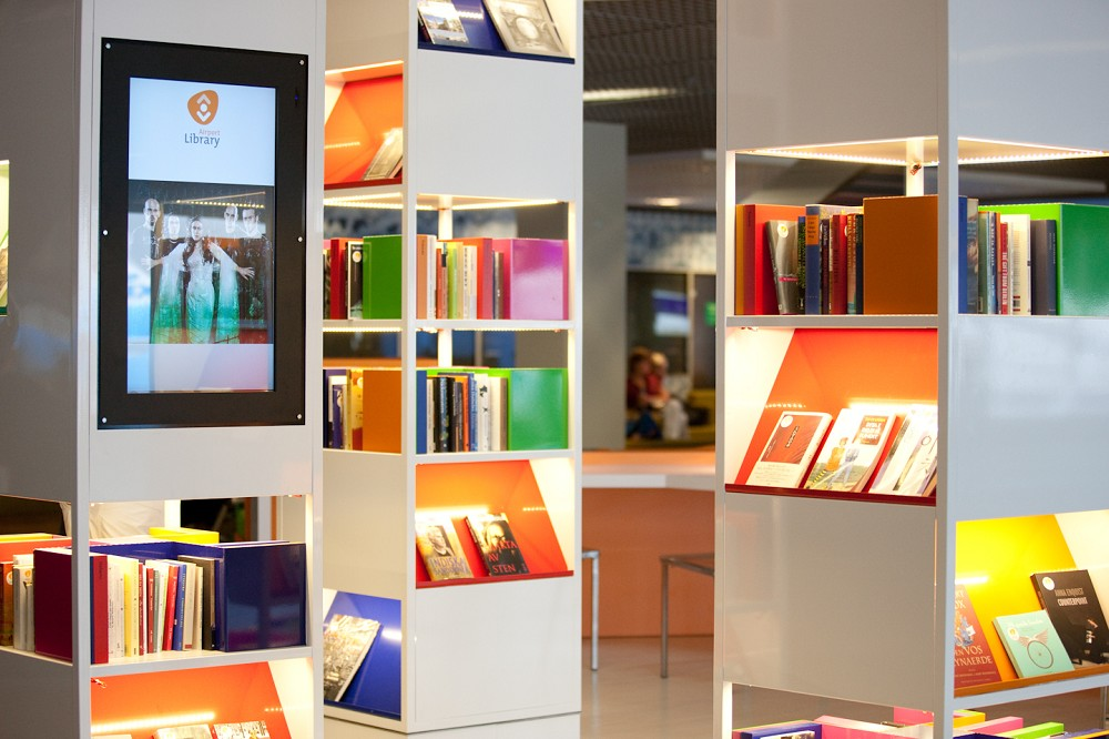Airport Library, Schiphol