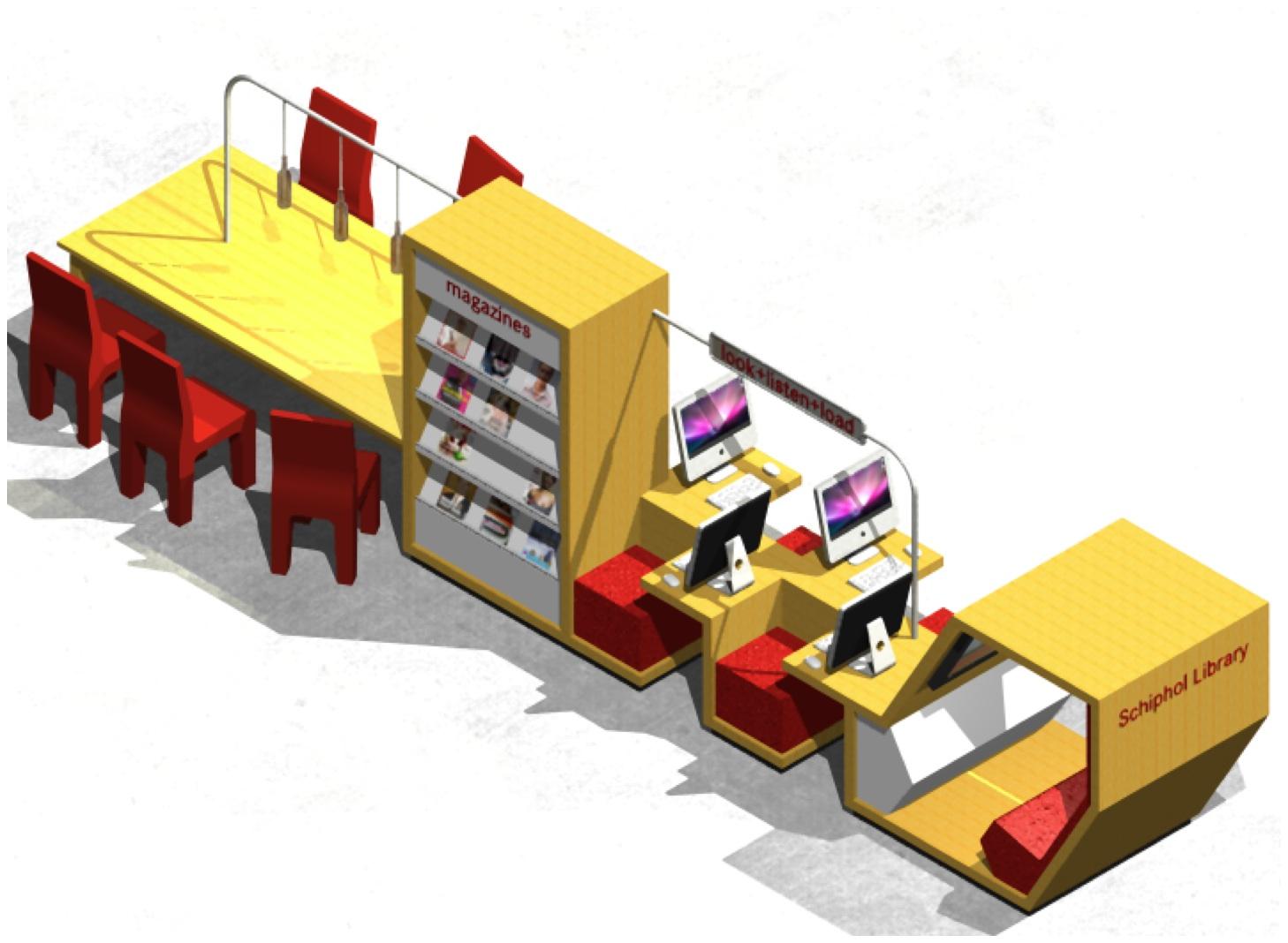 Vliegveld hanratharchitect - Tot zijn bibliotheek ...